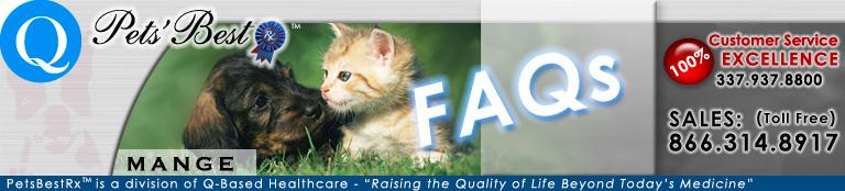 Pet Mange FAQ page